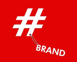 Hashtag brand